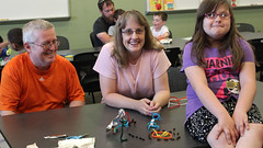 2016 5 23 - Family Fun Night - Pipe Cleaner Challenge - 4 (ACPL) Tags: georgetown geo fortwaynein acpl familyfunnight allencountypubliclibrary pipecleanerchallenge