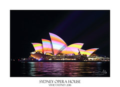 Sydney Opera House Vivid Sydney 2016 (sugarbellaleah) Tags: city travel light red urban orange colour tourism beautiful yellow architecture modern night rainbow pretty pastel sydney violet vivid australia kaleidoscope event nsw nightlife annual iconic sydneyharbour sydneyoperahouse bluepinkgreen destinationnsw