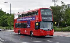 VH45167 London United (KLTP14) Tags: 3 tv gemini ratp 131 londonunited tolworth wrightbus vh45167 lj16evk