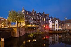 Oude Delfshaven (TIM BRUENING · PHOTOGRAPHY) Tags: holland rotterdam bluehour niederlande langzeitbelichtung blauestunde flickraward canon5dmarkii tse17mm flickrtravelaward historicdelfshaven oudedelfshaven delfshafen