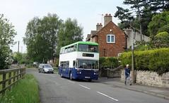 Notts and Derby 20, Alfreton Road, Little Eaton (Lady Wulfrun) Tags: derbyshire may saturday 20 departing 28th 2016 ecw leylandolympian littleeaton coxbench wellglade nottsandderby enthusiaststour c720nnn