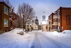 2016Fev-Vieux TR-14 (jdbrochu) Tags: photographie hiver troisrivieres ville clocher laneige pleinair batisse vieuxtroisrivieres paysageetnature