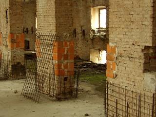 La grande salle située à l'étage