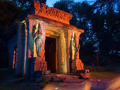 DSC05447 (regis.verger) Tags: temple zen nuit parc nocturne asiatique vgtal maulvrier