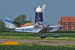 "G-CFDJ EV-97 TeamEurostar UK J D J Spragg & M Jones Sturgate Fly In 05-06-16 (PlanecrazyUK) Tags: sturgate egcv ""fly in"" 070615 gcfdj ev97teameurostaruk jdjspraggmjones fly in 050616"