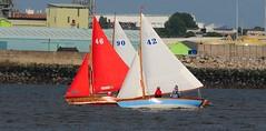 Wallasey Yacht Club Mates Race 23-6-16 (sab89) Tags: new 2 club race liverpool river wooden brighton sailing yacht tide low racing sail mates mersey seabird wallasey wirral wyc spinnacker