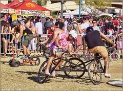 5070 (AJVaughn.com) Tags: park new arizona people beach beer colors bike bicycle sport alan brewing de james tour belgium bright cosplay outdoor fat parade bicycles vehicle athlete vaughn tempe 2014 custome ajvaughn