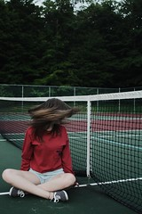(Evelyn Schloff) Tags: portrait highspeed hairflip