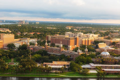 Sunlit University of Tampa (Photomatt28) Tags: sunset tampa florida hillsboroughriver universityoftampa