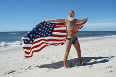 Forever Waves of Glory (Cowboy Tommy) Tags: ocean hairy sexy beach muscles sex america naked nude beard stars waves legs muscle flag manly tan crotch bikini bandana 4thofjuly redwhiteandblue atlanticocean tanline pubichair rugged fireisland bulge thepines lanky cherrygrove pubies