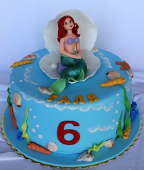 Little mermaid cake (nan4eto) Tags: birthday girls cake little mermaid