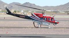 Aero Tech Bell 212 N85PP (ChrisK48) Tags: 1985 aerotechllc airrescueconcepts aircraft bell212 dvt helicopter huey kdvt n85pp phoenixaz phoenixdeervalleyairport cn31266