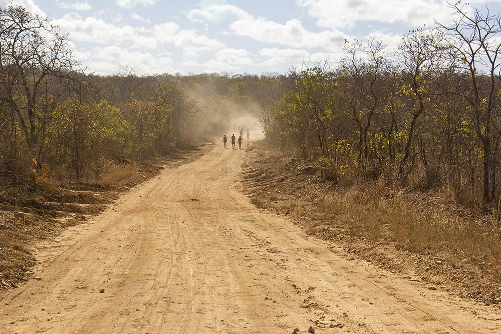 Caminho pra Fazenda Menino