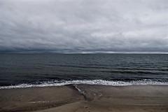 Wintery Day, Glenelg, South Australia (Rileyniz) Tags: glenelg beach winter cold sand ocean clouds landscape horizon adelaide southaustralia australia whitewash