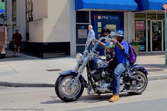 Biker Dad (taylor.michaelj) Tags: philadelphia mjt nikon d810 city urban