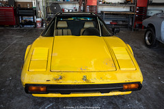 In Need Of Restoration (Hunter J. G. Frim Photography) Tags: supercar colorado ferrari 308 gts yellow italian v8 classic manual giallo modena giallomodena ferrari308gts