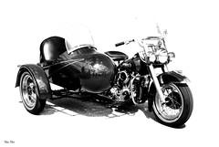 ride w me... (Stu Bo.. tks for 8 million views) Tags: motorcycle beautiful blackandwhite blackwhitephotos bike 3wheeler sidecar warrior wheels wirewheels kustom killer kool youjustdontseethiseveryday sbimageworks smooth shadows usa chromeisking