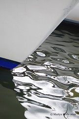 Week 31-2016 (mpw1421) Tags: nikon d60 522016edition 522016 wk3152 riverblackwater canal water boat ripples bow yatch