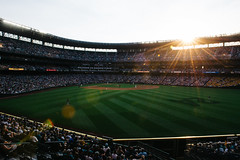 Beautiful night for baseball. (poopoorama) Tags: dannyngan dannynganphotography garrisontitan mariners nikoncorporation nikond600 safecofield seattle starwars starwarsnight starwarsweekend washington unitedstates