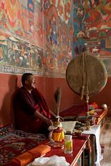 Ladakh (denisbaud) Tags: inde ladakh indus temple bouddhisme moine