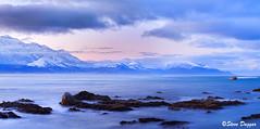 Untitled_Panorama1 (Steve Daggar) Tags: kaikoura newzealand seascape panorama mountains snowcappedmountains longexposure