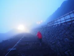 (Steve only) Tags: olympus pen ep5 panasonic lumix g vario 14714 asph 7144 714mm f4 m43 snap dusk mountain fujisan japan   hiking