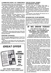 Leicester City vs Southampton - 1982 - Page 19 (The Sky Strikers) Tags: leicester city southampton fa cup road to wembley filbert street official matchday magazine 35p