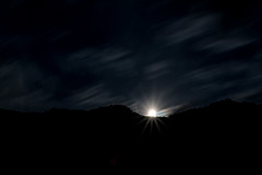 I see a full moon rising (Jan Moons) Tags: cevennes frankrijk vakantie moon rising mountain hills forest dark clouds longexposure lowlight nightshot night sky