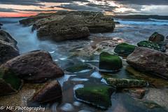Kurnell rocks (Mick Fletoridis) Tags: longexposure clouds seascape sunrise sonyimages sonya7r2 australia coast rocks