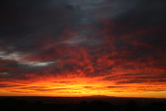 Sunset (monet618) Tags: sunset sunsets outdoor canon canon6d lseries 24105mm clouds red newmexico