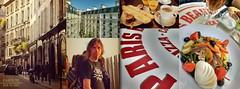 Creating an album on our PARIS trips | Miscpics (Elisabeth de Ru) Tags: paris parijs france ruedubac martijnonthearcdetriomphe viewfromkitchenwindowruechanzy petitdjeuner parisbeaubourg saladenioise ros pizza collage mosac