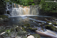 Lower Whitfield gill force, Askrigg, Wensleydale, Yorkshire Dales National Park. UK (Wend's photography) Tags: waterfall waterscape falls whitfield force yorkshire yorkshiredales dales woods woodland landscape england uk unitedkingdom kingdom longexposure long exposure atmosphere britain lee