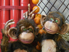 2016 Year of the Monkey (kenjet) Tags: 2016 newyear yearofthemonkey lv vegas lasvegas animal decoration hotel venetian venetianhotel nevada chinesenewyear
