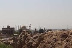 Far View of the Mazar (Omair Anwer) Tags: lal shahbaz qalander mazar tomb sehwan sharif sufi sufism