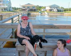Gabby on the Dock (crisp4dogs) Tags: gabby pwd portuguesewaterdog puppy crisp4dogs beach intercoastalwaterway acrisp alice lizzy
