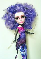 Spectral Disco (2) (Antiphane) Tags: monster high mattel doll poupe ooak repaint repeinte custo cutom