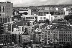 Bradford Cityscapes (Darren C Miller) Tags: bradford westyorkshire city cityscape roofs street building architecture grim monochrome blackandwhite