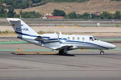 EC-HIN Cessna 525 Citation Madrid Barajas Airport 26th May 2014 (_Illusion450_) Tags: aeropuerto adolfosuárezmadrid–barajasairport adolfosuárez madridbarajasairport adolfo suárez madrid–barajas airport madridairport 26514 260514 echin citation c525 cessna