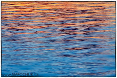 Stephen M. Fochuk Sunset on Long Lake (Stephen M. Fochuk) Tags: abstract sunset yellowknife nwt northwestterritories ripples