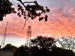 Random Photos! - Sunrise Canvas. (Polterguy30) Tags: massachusetts medford silhouettes silhouette sky sunrise random