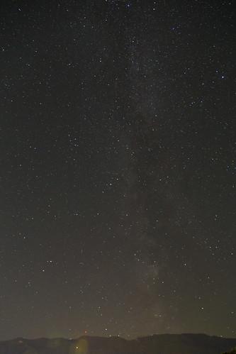 Sterne mit Berg
