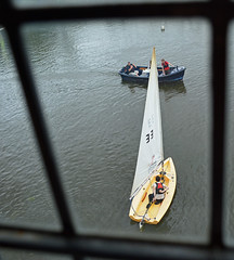 Sailing on The Nene (Travis Pictures) Tags: peterborough rivernene river waterway city citycentre cityscape citycontest eastanglia england uk britain seacadets nikon d5200 photoshop water leisure customhouse