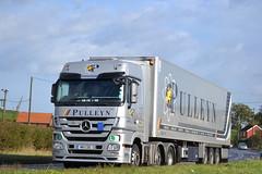 Mercedes Benz Actros 'Pulleyn' reg HK11 COU (erfmike51) Tags: lorry artic mercedesbenzactros