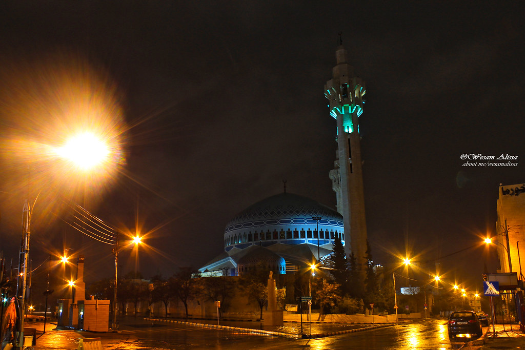King Abdullah I Mosque Wesam Alissa Tags Nightphotography Amman Abdali Ammannight
