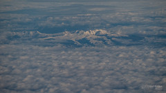 Pyrenees mountain range under clouds with GX7.