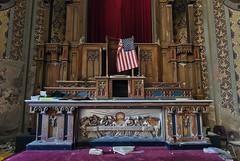 United States of Decay (Subversive Photography) Tags: usa church america religious book us ruins pennsylvania decay flag altar urbanexploration ornate derelict wornout urbex danielbarter statesofdecay unitedstatesofdecay