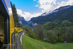 Approaching Lauterbrunnen (Nur Ismail Photography) Tags: desktop wallpaper panorama house mountain snow ski alps cold tree green tourism beautiful beauty car weather rock train poster observation landscape photography switzerland high cool artwork cabin scenery europe long exposure european slow screensaver swiss hill picture rocky railway cable landmark visit icon tourist resort glacier clean foliage clear ridge valley visitor residential picturesque range iconic breathtaking slope exposed attraction jungfrau snowcap