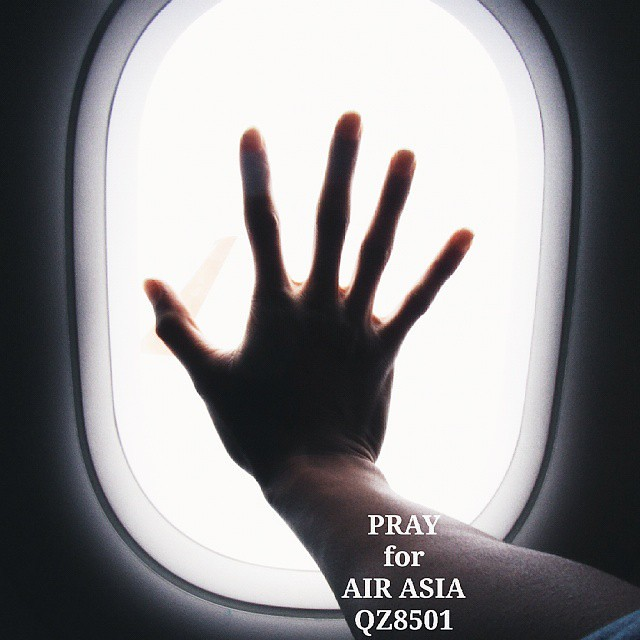 🙏 PRAY for AIR ASIA QZ8501 ✈  #vscocam #photapgraphy