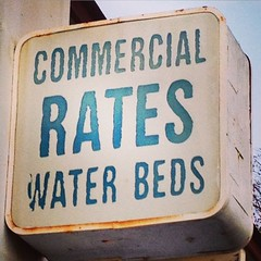 Commercial Motel Water Beds (Joe Mud) Tags: square motel squareformat pasadena mayfair waterbed iphoneography instagramapp uploaded:by=instagram