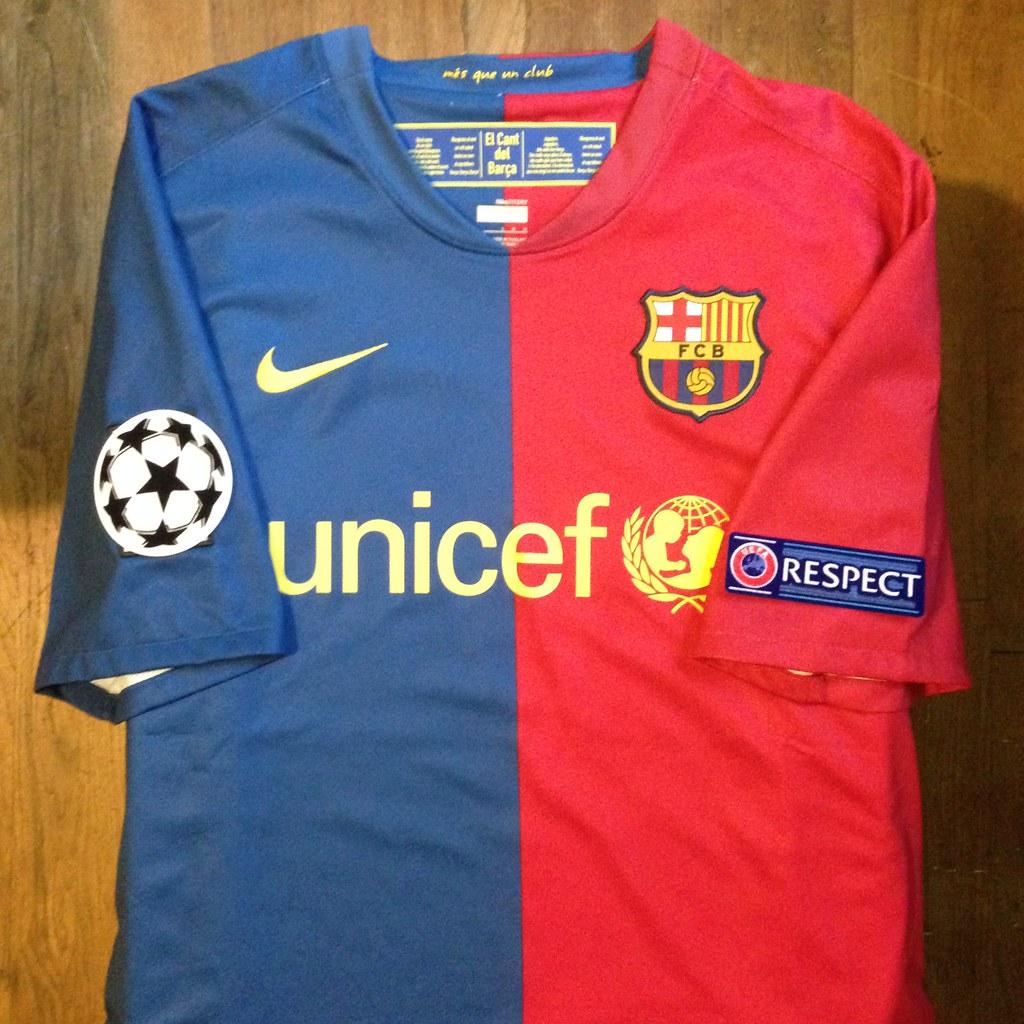 a258bce1b65 2008-2009 FC Barcelona Home Jersey (Canapial) Tags: barcelona home sport  shirt
